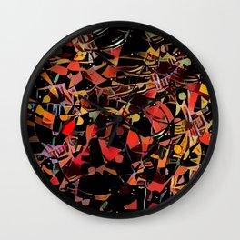 Sketchy Mosiac Wall Clock