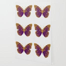 Purple Butterfly Wallpaper