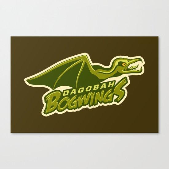 Dagobah Bogwings Canvas Print