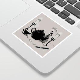 Tea & Intention Sticker