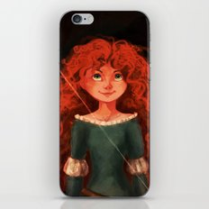Bravery iPhone & iPod Skin
