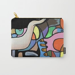 Strewn Objects Detail Carry-All Pouch
