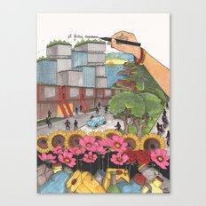A better tomorrow Canvas Print