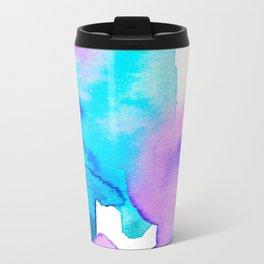 Watercolor 01 Metal Travel Mug