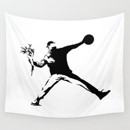 #TheJumpmanSeries, Banksy Wall Tapestry