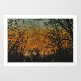 Yesterday and Today Art Print
