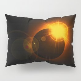 Total  Eclipse Astro Photography Pillow Sham