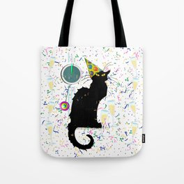 Chat Noir  Party Countdown Tote Bag