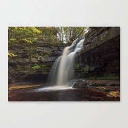 Gibsons Cave nature waterfall Canvas Print