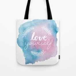 Love yourself 3 Tote Bag