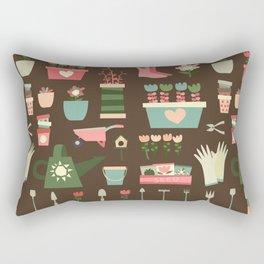 Spring Field Rectangular Pillow
