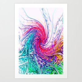 True Colours Art Print