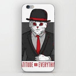 catitude iPhone Skin