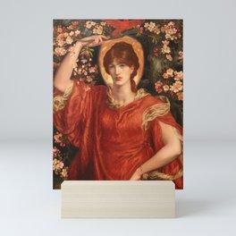 A Vision of Fiammetta, Dante Gabriel Rossetti Mini Art Print