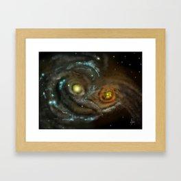 Owlaxies Framed Art Print