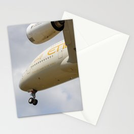 Etihad Airlines Airbus A380 Stationery Cards