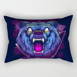 Frenzy Bear Rectangular Pillow