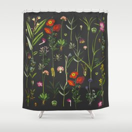 Exquisite Botanical Shower Curtain