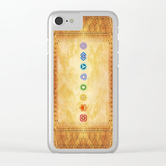 Chakras Kali | Beyond the time  Clear iPhone Case