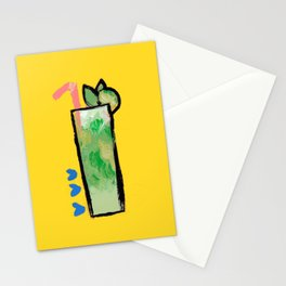 Miami Mojito Stationery Cards