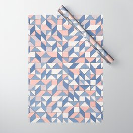 Shifting geometric pattern Wrapping Paper
