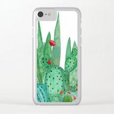 Cactus 12a Clear iPhone Case