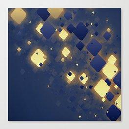 Data Skys Canvas Print