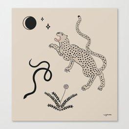 Desert Prey Canvas Print
