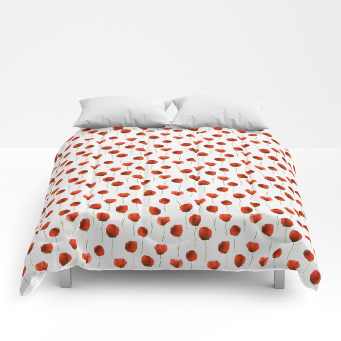 Poppy treat Comforters