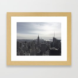 New York City, New York Framed Art Print