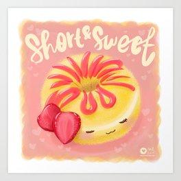 Short & Sweet Art Print