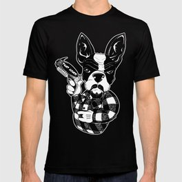 French Bulldog Gangster  T-shirt