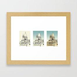 Fisherman's Bastion - Budapest - Hungary Framed Art Print