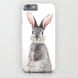 Baby Rabbit, Baby Animals Art Print By Synplus iPhone Case