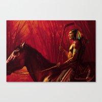 blackhawks Canvas Prints featuring Blackhawks Tribute by Bryan Butler Art