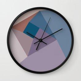Geometric Vortex Wall Clock