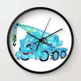 Lofty Wall Clock