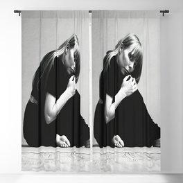 Joni Mitchell Photograph- Marvelous 1974 Live Portrait - Photo Poster Print Poster Blackout Curtain