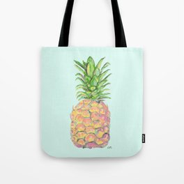 Mint Brite Pineapple Tote Bag