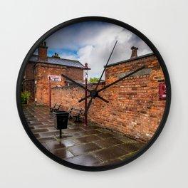 Hadlow Victorian Railway Station Wall Clock
