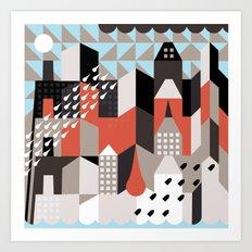 suburbia  Art Print