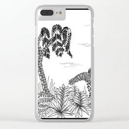 Outside I Clear iPhone Case