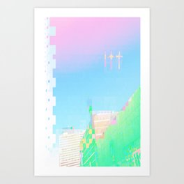 doublecrossing Art Print