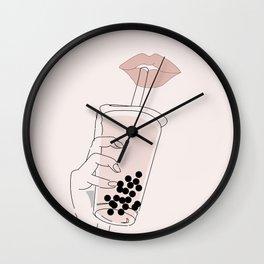 Boba is Life Wall Clock