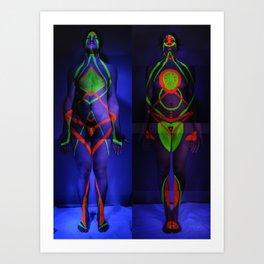 Adam & Eve, 2011 Art Print