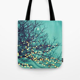 twinkle lights Tote Bag