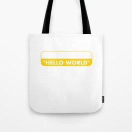 Coding Tote Bag