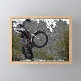 Off-roading - Motocross Racing Framed Mini Art Print
