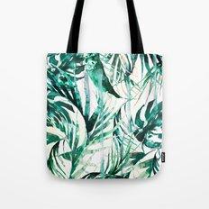 Green Tropical paradise  Tote Bag
