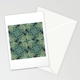 Green Herb Garden, Dill Flowers Stationery Cards